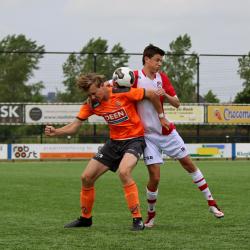Bekerfinale landelijke jeugd JO17 FC Volendam - FC Emmen